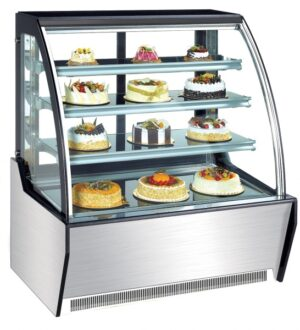 Standing Cake Display Curve 1500mm by Norsk